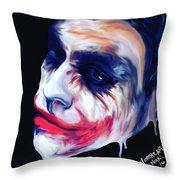 Joke's On You Throw Pillow