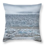 Jokulsarlon, Iceland Throw Pillow