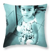Jolly Balls Throw Pillow