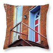 Jonesborough Tenessee - Upstairs Neighbors Throw Pillow