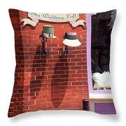 Jonesborough Tennessee - Wedding Shop Throw Pillow