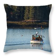 Jonespot, Maine  Throw Pillow
