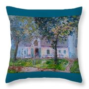 Jonkerhshuis At Groot Constantia Throw Pillow