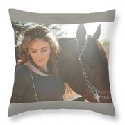 Jordan-display Only Throw Pillow