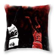 Jordan Over Salley Throw Pillow