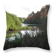 Jordan River 2 Throw Pillow