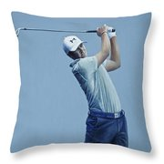Jordan Spieth  Throw Pillow