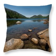 Jordon Pond Throw Pillow