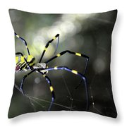 Jorogumo Queen  Throw Pillow