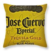 Jose Cuervo Throw Pillow