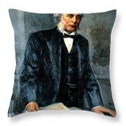 Joseph Lister, Surgeon And Inventor Throw Pillow