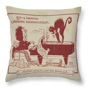 Joseph Monsalvatje Throw Pillow