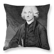Joseph Priestley, English Chemist Throw Pillow