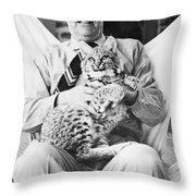 Joseph Wood Krutch Throw Pillow
