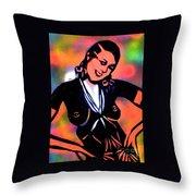Josephine Baker Throw Pillow