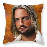 Josh Holloway Throw Pillow