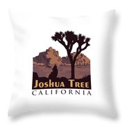 Joshua Tree. Throw Pillow
