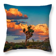 Joshua Tree In All Its Beauty Throw Pillow