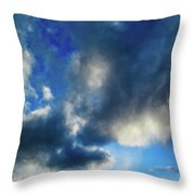 Joshua Tree Sky Throw Pillow