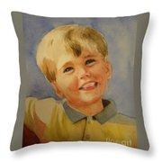 Joshua's Brother Throw Pillow