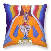 Journey Of Awakening Throw Pillow