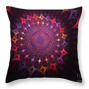 Journey Of The Souls Throw Pillow