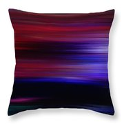 Journey Through Color-1 Throw Pillow