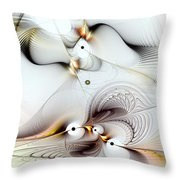 Journey To Ecstasy Throw Pillow