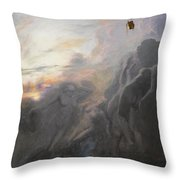 Journey To Infinity Throw Pillow