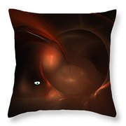 Journey To The Center Of My Mind Throw Pillow