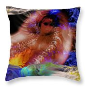 Journey To The Centre Of Man's Mind Throw Pillow