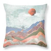 Journey To The Clouds Throw Pillow