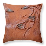 Journeys - Fleeing  21 - Tile Throw Pillow