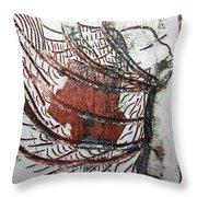 Journeys 13 - Tile Throw Pillow