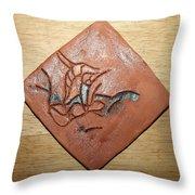 Journeys 9 - Tile Throw Pillow