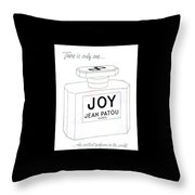 There Is Only One... Throw Pillow by ReInVintaged