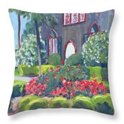 Joy At The Church Of The Cross Throw Pillow