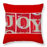 Joy Lights Up My Life Throw Pillow