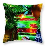 Joy Of Christmas 1 Throw Pillow