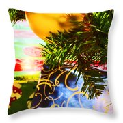 Joy Of Christmas 2 Throw Pillow
