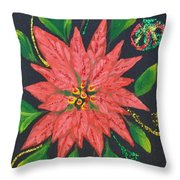 Joy Of Holidays Throw Pillow