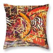 Joy Of Life Throw Pillow