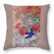 Joy Of Spring Throw Pillow