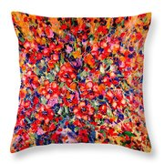 Joy Of Summer Throw Pillow