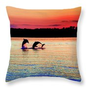 Joy Of The Dance Throw Pillow