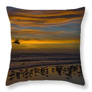 Joyful Gathering Throw Pillow