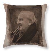 J.r.r. Tolkien Throw Pillow