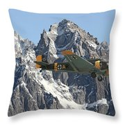 Ju52 - Lutwaffe Stalwart Throw Pillow