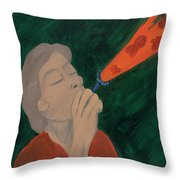 Juanita Faye Persing Delvisco Throw Pillow