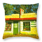 Juarez Motel Throw Pillow
